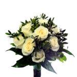 ramo-de-novia-bouquet de rosas blancas