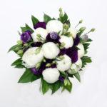 ramo-de-novia- bouquet de peonias blancas